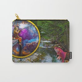 Fishing from another Dimension Carry-All Pouch