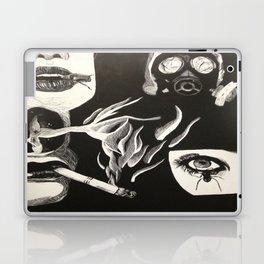Its all just smoke and gasmasks Laptop & iPad Skin