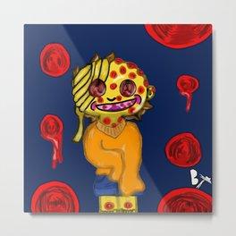Psycho Dollies Sponge Holes Metal Print