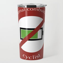 No E-Bike No Battery Travel Mug