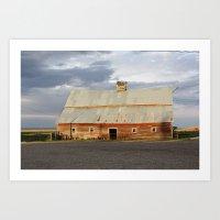 Big Sky Summer Storm Art Print