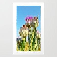 Pincho &  glass Art Print