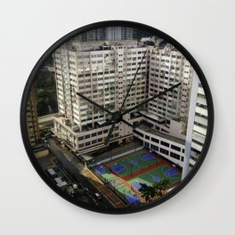 Outdoor Basketball Wall Clock