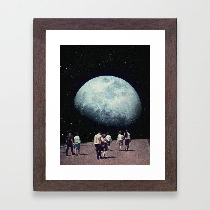 Way Back Home Framed Art Print