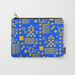Wonderland Blue Carry-All Pouch