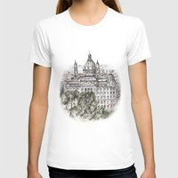 budapest T-shirts featuring Budapest Art by Daria Kotyk