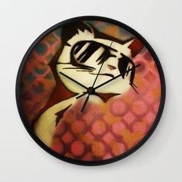 Meow~ Wall Clock