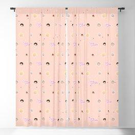 GG Pattern Cute Blackout Curtain