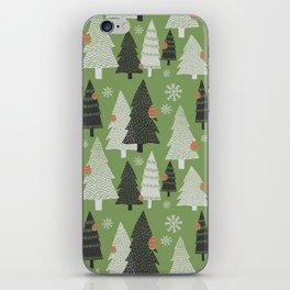 Christmas Trees iPhone Skin
