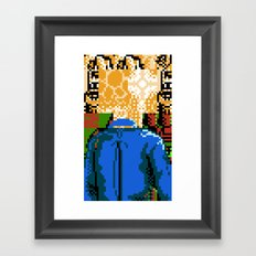 My Mind Could Be Anywhere Framed Art Print