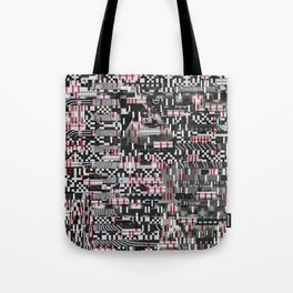 Comfortable Ambiguity (P/D3 Glitch Collage Studies) Tote Bag