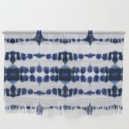 Boho Tie-Dye Knit Vertical Wall Hanging