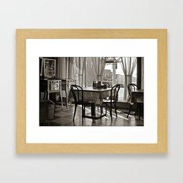 Mount Vernon, Iowa, 1974 Framed Art Print