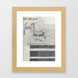 Untitled -0.678 Framed Art Print