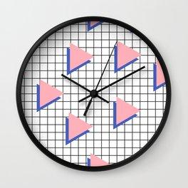 Memphis pattern 8 Wall Clock