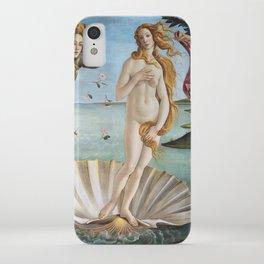 Botticelli's The Birth of Venus (High Resolution) iPhone Case