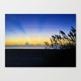 Twilight Rainbow Canvas Print