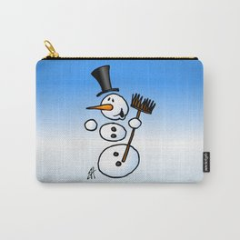 Dancing snowman Carry-All Pouch