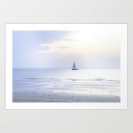 Another sunset on the North Sea... Art Print