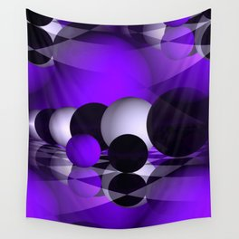 3D - abstraction -121- Wall Tapestry