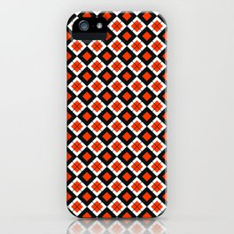 CHECK IT RED iPhone Case