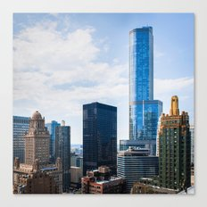 Architecture of Chicago Canvas Print