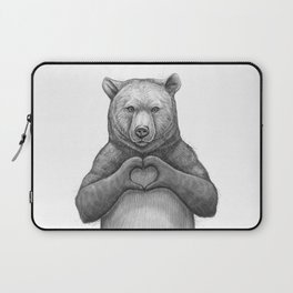 Bear with love Laptop Sleeve