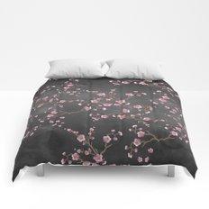 SAKURA LOVE - GRUNGE BLACK Comforters