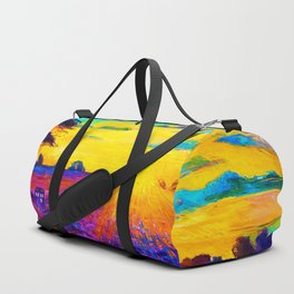 Tardis Art Starry Tree Duffle Bag