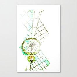 Trigrid Canvas Print