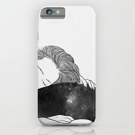 The feeling is indescribable iPhone Case