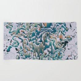 XĪ_3 Beach Towel