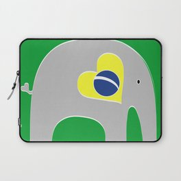 Brazilian Elephant Laptop Sleeve