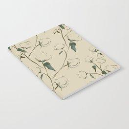 Cotton Bolls Notebook