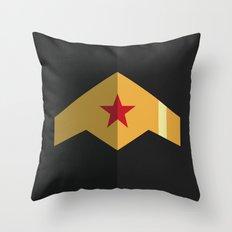 Woman, Hero Wonder, DC Throw Pillow