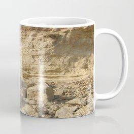 Eroding Graffiti Cliff 2 Coffee Mug