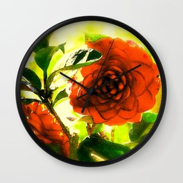 """Lazy Afternoon (iv)"" by ICA PAVON Wall Clock"