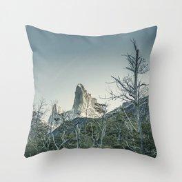 Fitz Roy Mountain, el Chalten - Patagonia - Argentina Throw Pillow