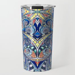 Drawing Floral Zentangle G7B Travel Mug