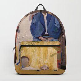 The Faces are Familiar Backpack