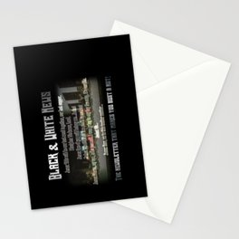 The Black & White Last Supper Stationery Cards