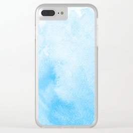 Blue is the Warmest Color Clear iPhone Case