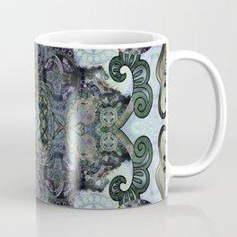Gothic Depth Meditation Mandala for Shadow Work Coffee Mug