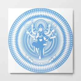 Holy Mary Metal Print