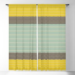 Stripe Pattern VI Blackout Curtain