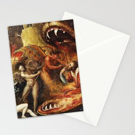 Demons and creatures Stationery Cards