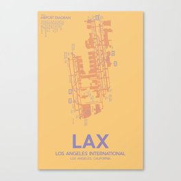 LAX Canvas Print