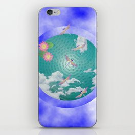 Dragonfly Pond iPhone Skin