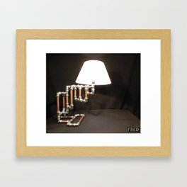 Articulated Desk Lamps - Copper and Chrome Collection - FredPereiraStudios_Page_09 Framed Art Print