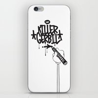 writer iPhone & iPod Skins featuring Writer by The Killer Gerbil